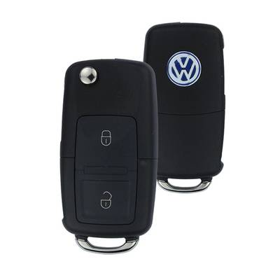 VW Flip Remote 2 Button 433MHz N