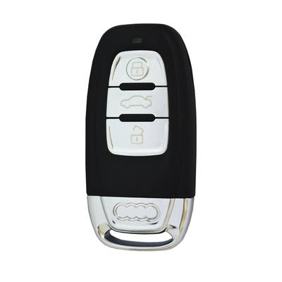 Audi Smart Key Shell 3 Button With Blade