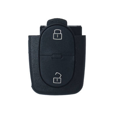 Audi Remote Shell 2 Buttons with Small Battery Holder
