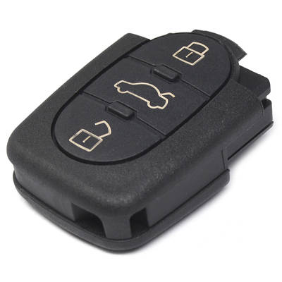 Audi Remote Shell 3 Buttons with Small Battery Holder
