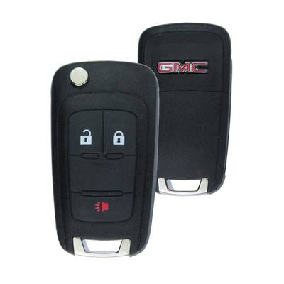 GMC Terrain Genuine Flip Remote Key 3 Button 2010-2015 5913596