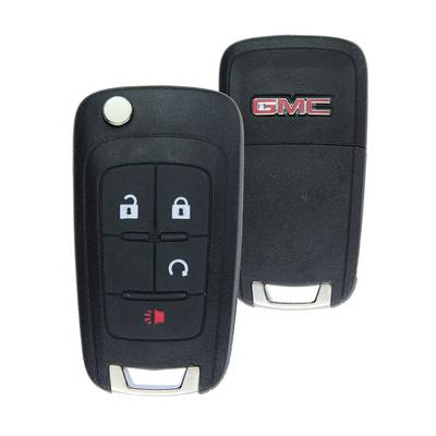 GMC Terrain Genuine Flip Remote Key 4 Button 2010-2014 315MHz 20873622