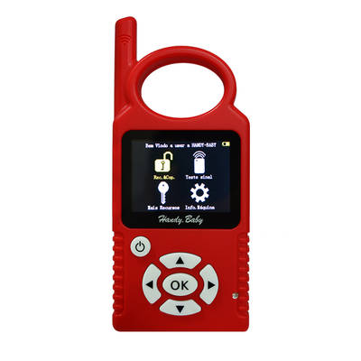 Handy Baby Hand-held Car Transponder Key Copy Auto Key Programmer for 4D 46 48 Chips Portugues Language