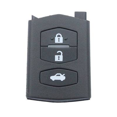 Mazda Flip Remote  Key Shell 3 Button Without Head
