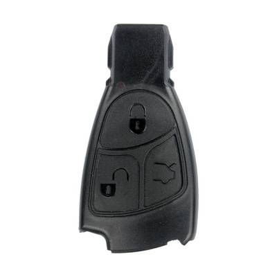 Mercedes Benz Smart key remote Shell Black 3 Button