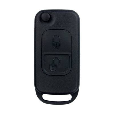 Mercedes Benz Flip Remote Shell 2 Button HU64 Blade