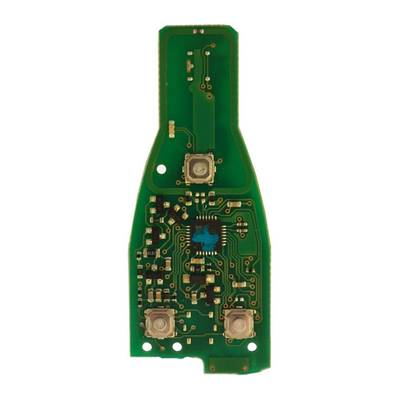Mercedes Board Remote chrome 315MHz Or 433MHz