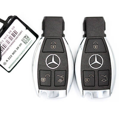 Mercedes BGA Original Remote 3 Buttons 433MHz
