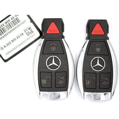 Mercedes BGA Original Remote 4 Buttons 315MHz