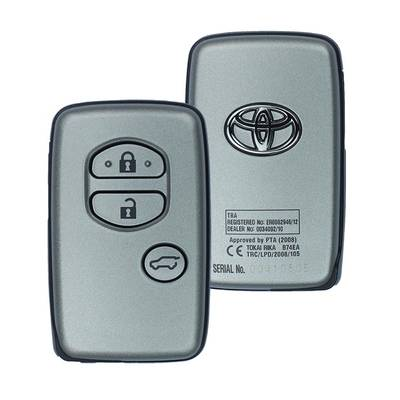 Toyota Prado Genuine Smart Key 2010 3 Button 433MHz 89904-60762  89904-60541