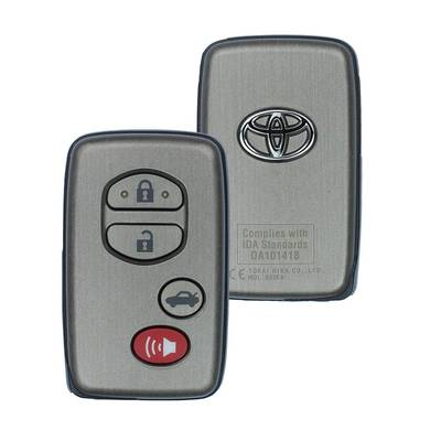 Toyota Orion Genuine Smart Key 2010 4 Button 433MHz 89904-33431