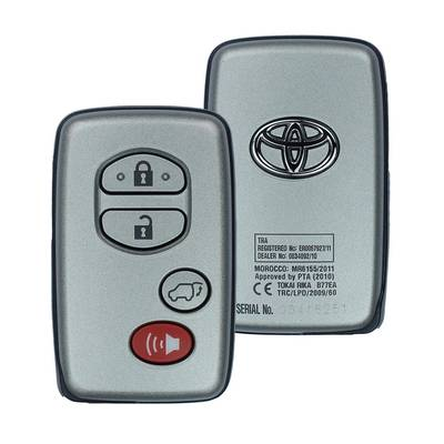 Toyota Land Cruiser Genuine Smart Key 2013 2015 4 Button 433MHz 89904-60B02
