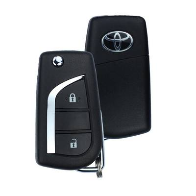 Toyota Corolla Genuine Flip Remote Key 2 Button 315MHz 89070-12A20
