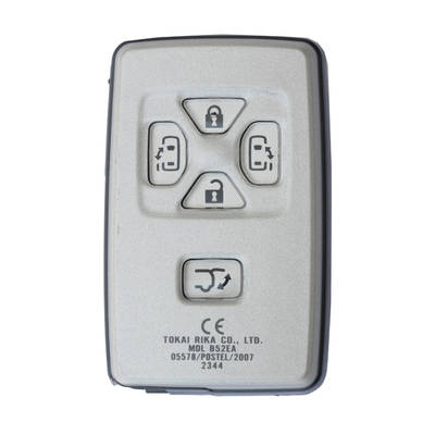 Toyota Previa Genuine Smart Key 2008 5 Button 433MHz 89904-28125