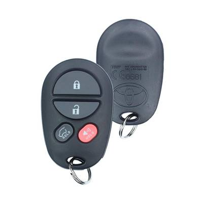 Toyota Camry Genuine Remote 2008 4 Button 433MHz 89742-0W030