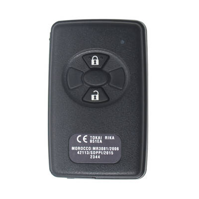 Toyota Corolla RAV4 Genuine Smart Key Remote 2 Button 433MHz 89904-52072