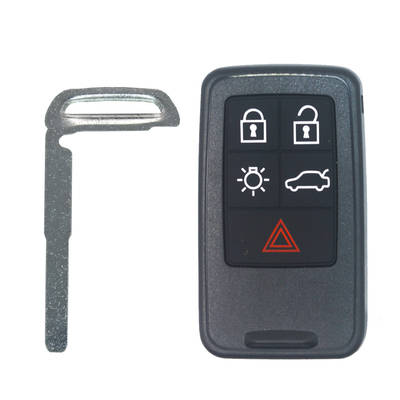 Volvo Smart Key Shell 5 Buttons