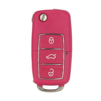 Xhorse VVDI Key Tool VVDI2 Wire Flip Remote Key 3 Button Pink XKB502EN