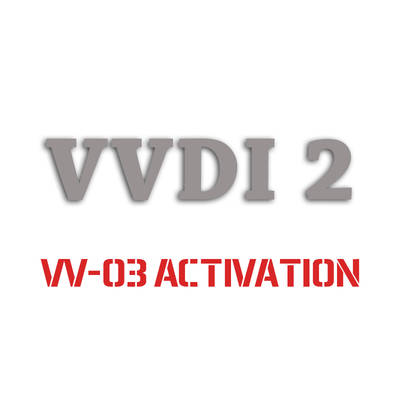 VVDI2 VAG Copy 48 Transponder by OBDII Function Authorization Service (VV-03)