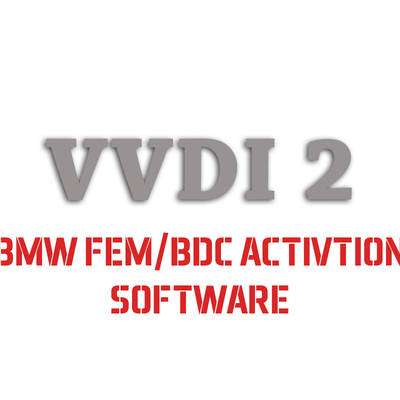 VVDI2 BMW FEM/BDC Activation software VB-03