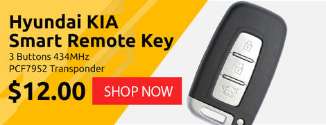 Hyundai KIA Smart Remote Key 3 Buttons 434MHz PCF7952 Transponder