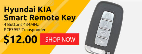 Hyundai KIA Smart Remote Key 4 Buttons 434MHz PCF7952 Transponder