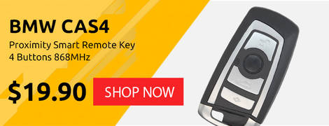 BMW CAS4 Proximity Smart Remote Key 4 Buttons 868MHz