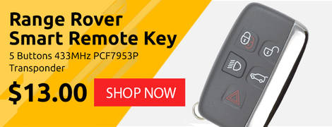 Range Rover Smart Remote Key 5 Buttons 433MHz PCF7953P Transponder