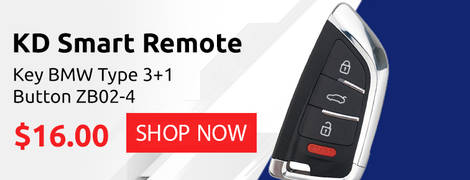 KD Smart Remote Key BMW Type 3+1 Button ZB02-4