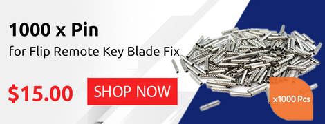 1000 x Pin for Flip Remote Key Blade Fix