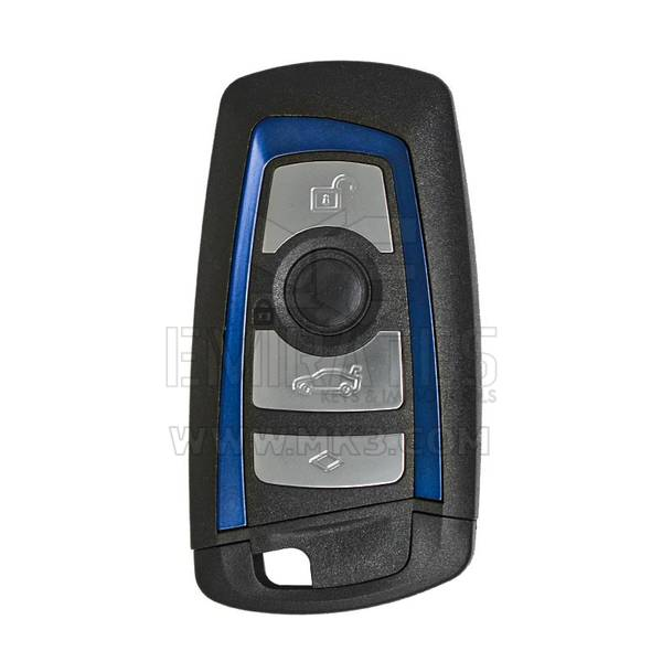 BMW CAS4 Remote Shell 4 Buttons Blue Color