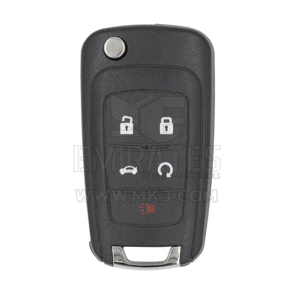 Chevrolet Flip Smart Remote Key 5 Buttons 433Mhz PCF7952E Transponder Proximity Type
