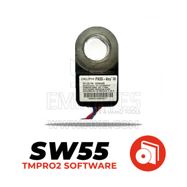 Tmpro SW 55 - GM Passkey3 immobox Delphi