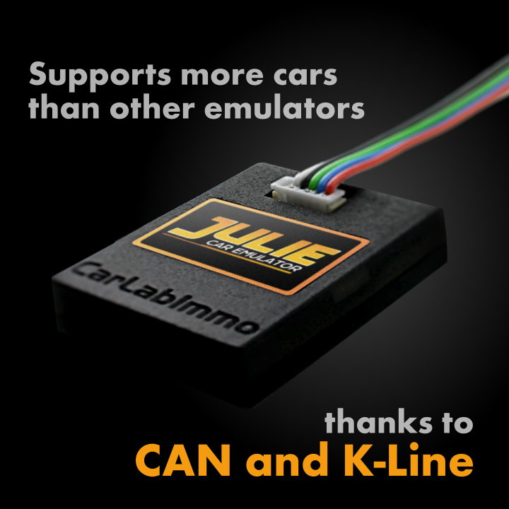 Julie Platinum Universal Car Emulator For Immobilizer ECU